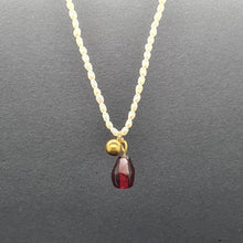 Load image into Gallery viewer, Pomegranate Little Seed Anar Necklace - Yalda Concept Store Persan