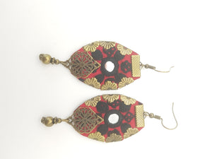 Red Mim Earrings - Yalda Concept Store Persan