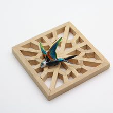 Load image into Gallery viewer, Spring Brooch, Swallow - Yalda Concept Store Persan