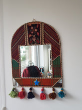 Load image into Gallery viewer, Unique Kilim Mirror 50x40 cm - Yalda Concept Store Persan