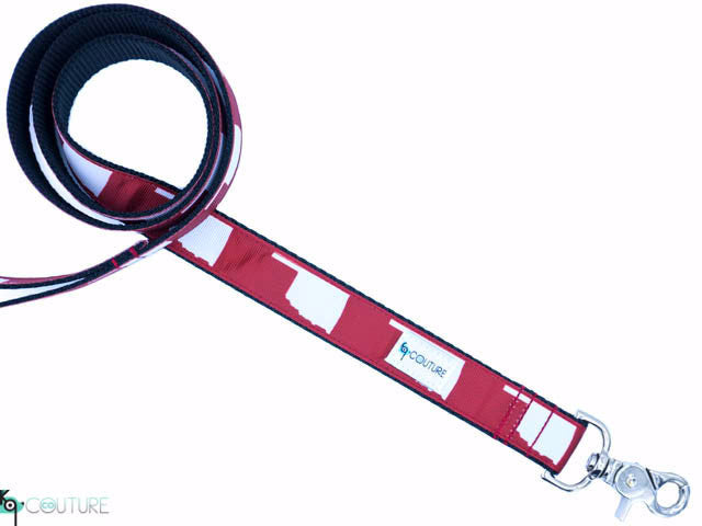 OU State Silhouette Leash