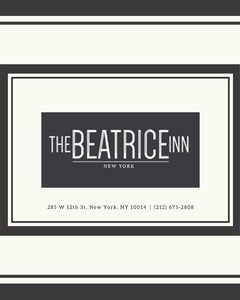 The Beatrice Inn - Gift Cards
