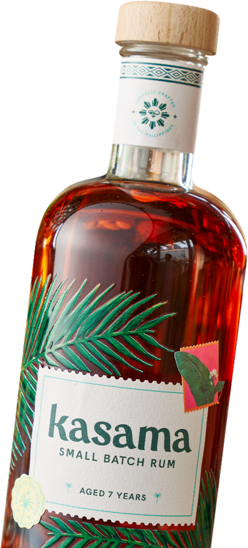 Bottle of Kasama Rum
