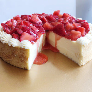 Strawberry Sensation Cheesecake