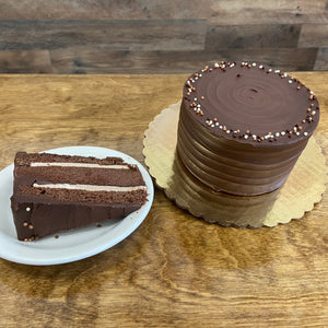 Very Chocolate Cake with Ganache
