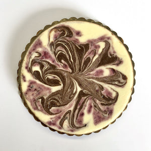 Chocolate Raspberry Swirl Cheesecake