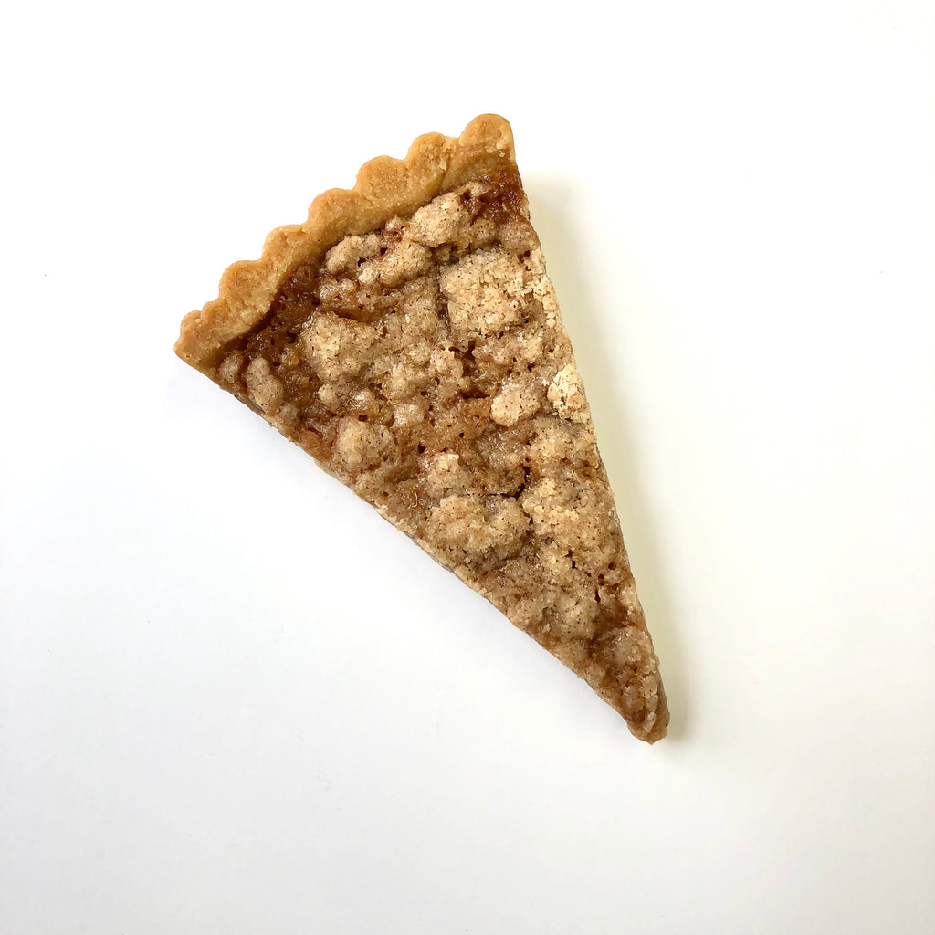 Apple Caramel Tart Slice