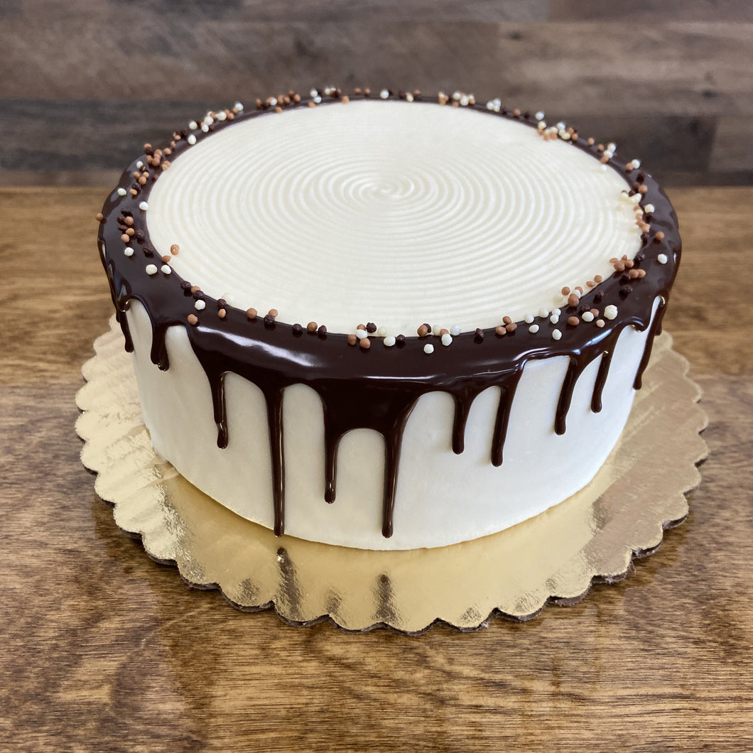Very Chocolate Cake with Cream Cheese Frosting