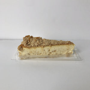 Slice - Apple Caramel Streusel Cheesecake