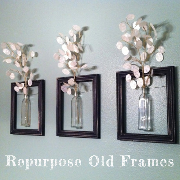 5 Cool Ideas For Repurposing Old Picture Frames Ive Been Framed