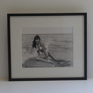"Bunny Yeager  ""Bettie Page On Rocks"""