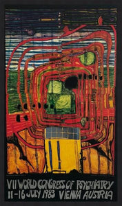 "Friedensreich Hundertwasser ""VII World Congress of Psychiatry"""