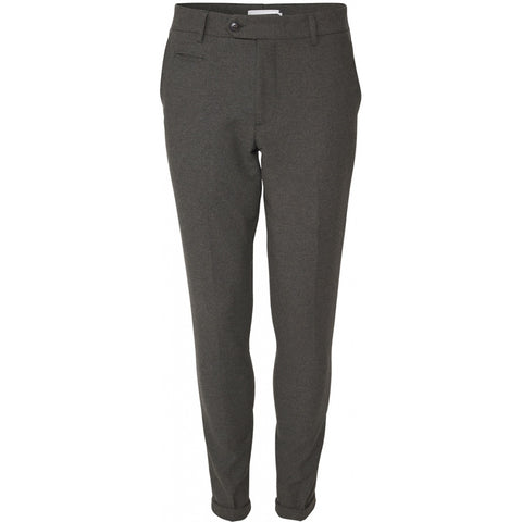 Como Wool Suit Pants dark sand