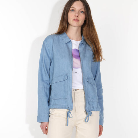 Hilmaa Jacket foggy blue