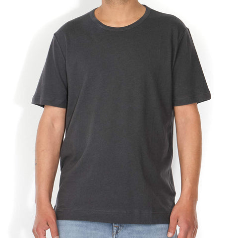 Antonio Linen Tee acid black