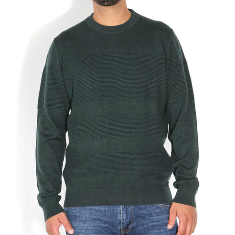 Baabel Sweatshirt deep green melange