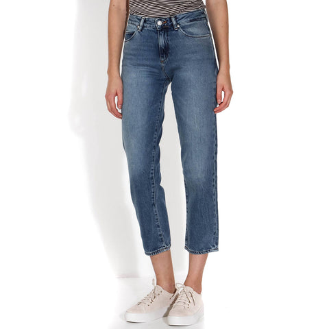 Fjellaa Cropped Jeans light vintage