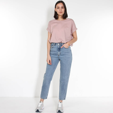 Mairaa Mom Fit Jeans faded blue