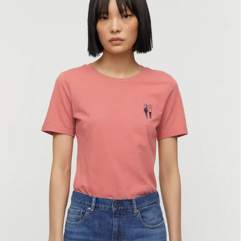 Lidaa Best Friends Tee cinnamon rose