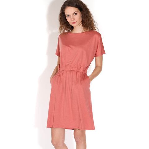 Tadinaa Dress cinnamon rose