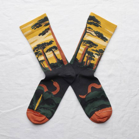 Butter Cup Baobab Socks