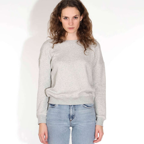 Becky Sweater grey melee