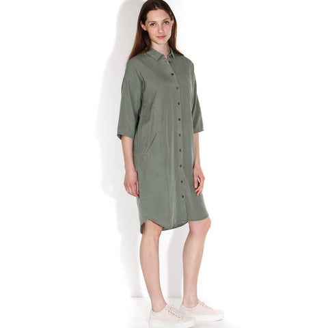 Bloeme Nakai Dress olive