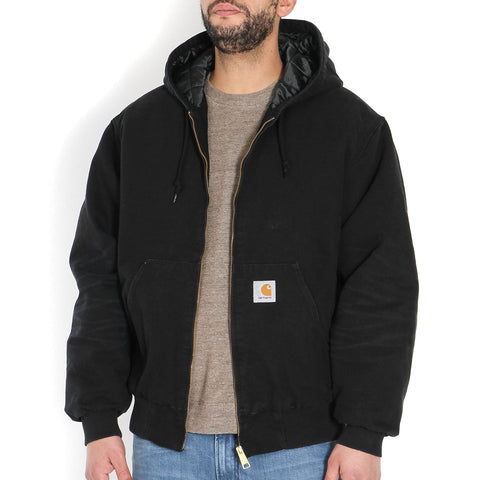 OG Active Jacket black aged canvas