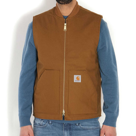 Vest brown rigid