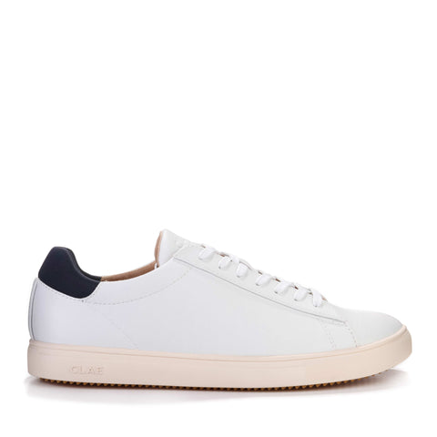 Bradley Vegan Leather white/navy