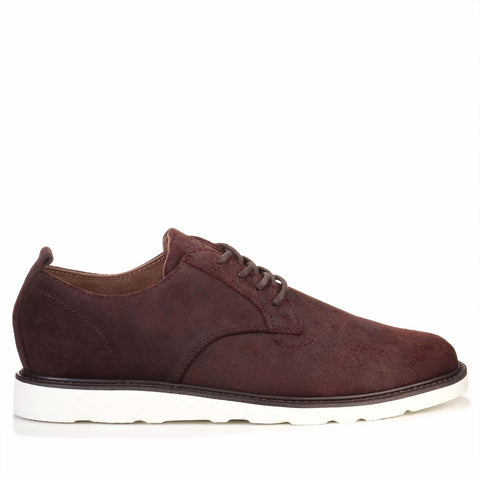 Ellington Vibram Leather Suede umber waxed