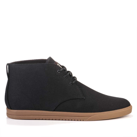 Strayhorn Textile black hemp canvas