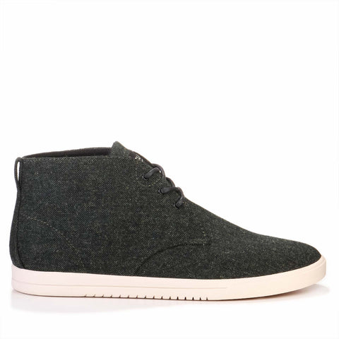 Strayhorn Textile green textured canvas