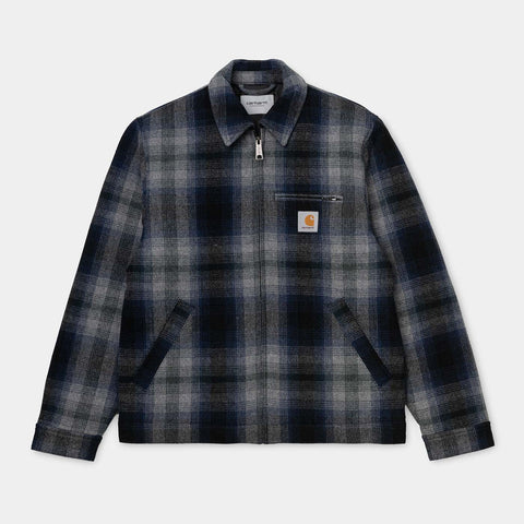Detroit Vermont Jacket check/black