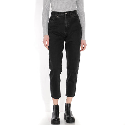 Nora Mom Jeans retro black