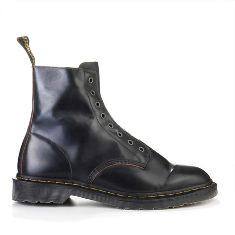 1460 Laceless Boot Vintage Smooth black