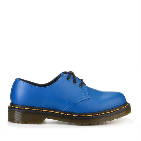 1461 3 Eye Shoe Smooth blue
