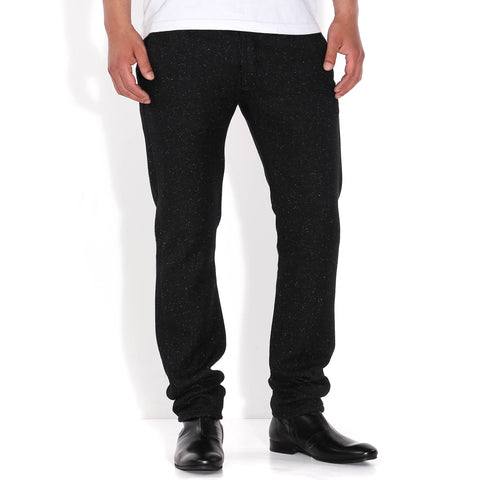 55 Chino Herringbone Wooly black