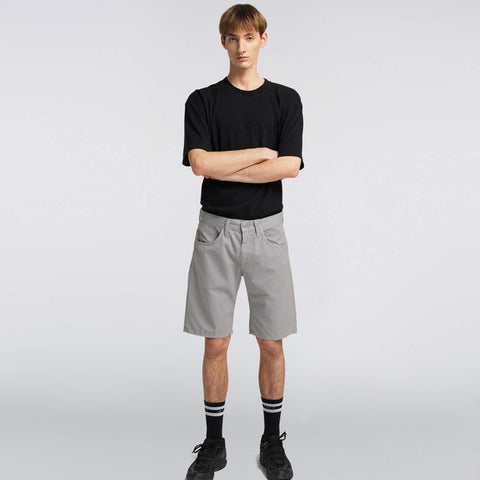 55 Bermuda Shorts frost grey garment dyed