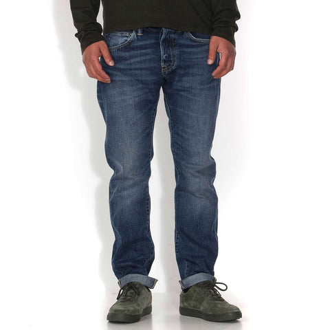 ED-80 Jeans deep blue savage wash