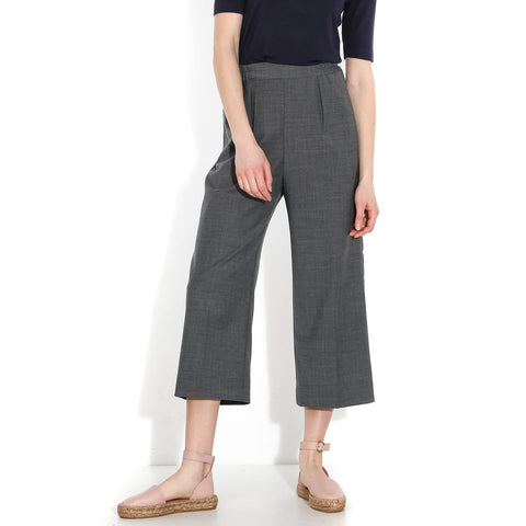 Elly Trousers mid grey melange