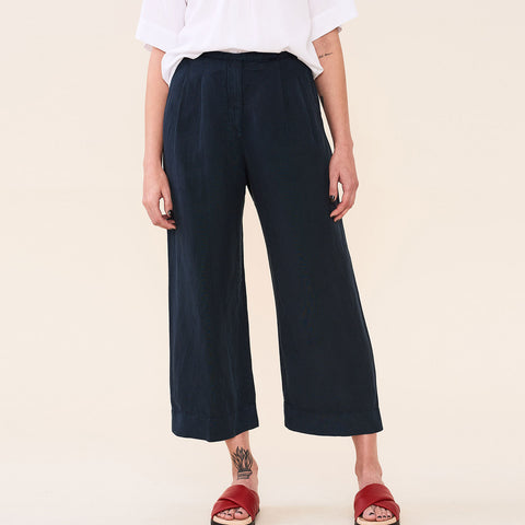 Lisette Trousers dark nay