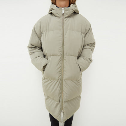 Elphin Puffer Coat pale olive