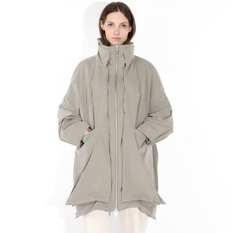 Visby Coat pale olive
