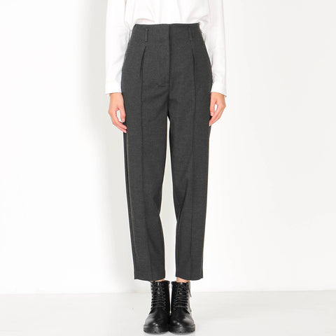 Hailey Trousers black melange theory