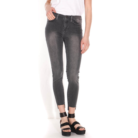 Kate Cross Crop Jeans detroit grey