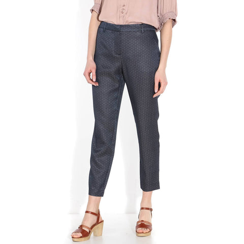 Kylie Crop Pant navy blush