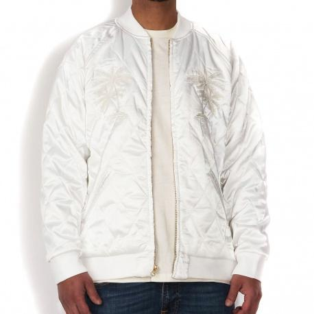Satin Palm Jacket pearl