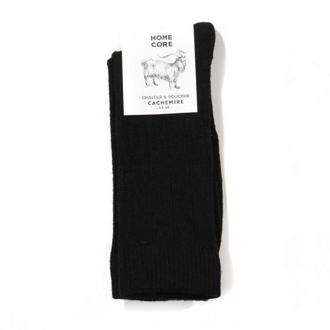 Cashemire Socks black