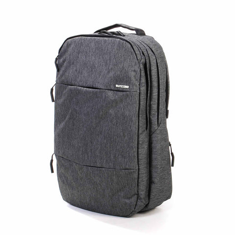 CITY Backpack heather black/gunmetal